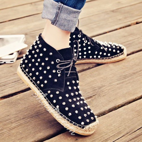 Shoespie Chic Ankle Canvas Shoes