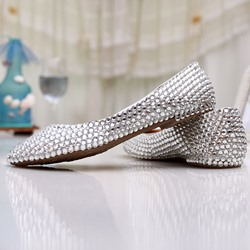 Shoespie Shining Rhinestone Bridal Shoes