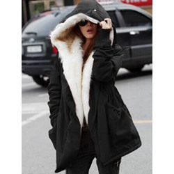 Straight Thick Mid-Length Women's Cotton Padded Jacket
