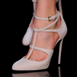Fashionable Ankle Wrap Laces Stiletto Heels