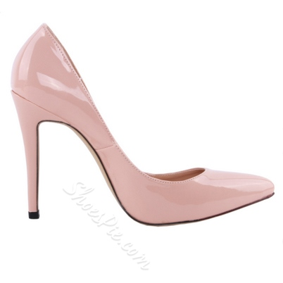 Shoespie Elegant Apricot Office Wear Stiletto Heels