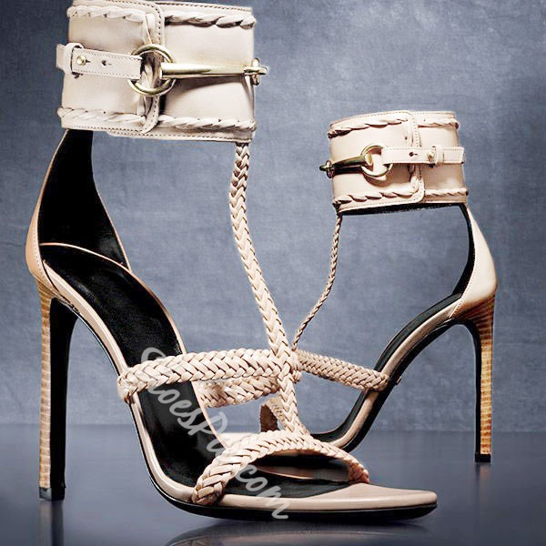 Shoespie Sstiletto Heel Dress Sandals