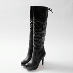 Shoespie Stiletto Heel Fashion Boots