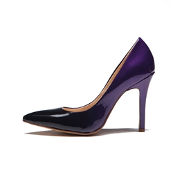 Shoespie Purple Pointed toe Stiletto Heels