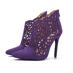 Shospie Cut out Pointed toe Stiletto Heels