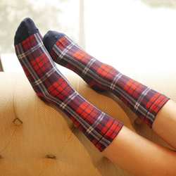 Shoespie Lattice Socks