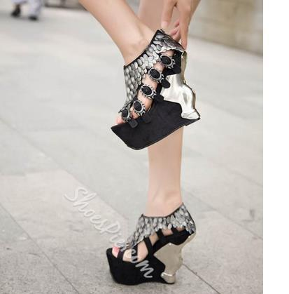 Shoespie Sexy Wedge Sandals