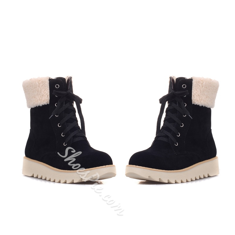 Shoespie Comfortable Plush Snow Boots