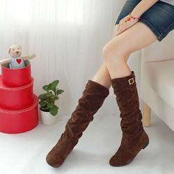 Shoespie Flat Knee High Boots