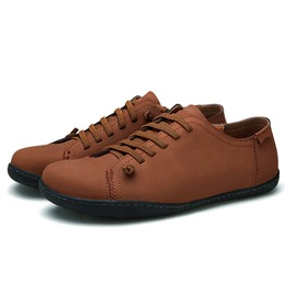Shoespie Retro Color Lace up Oxfords
