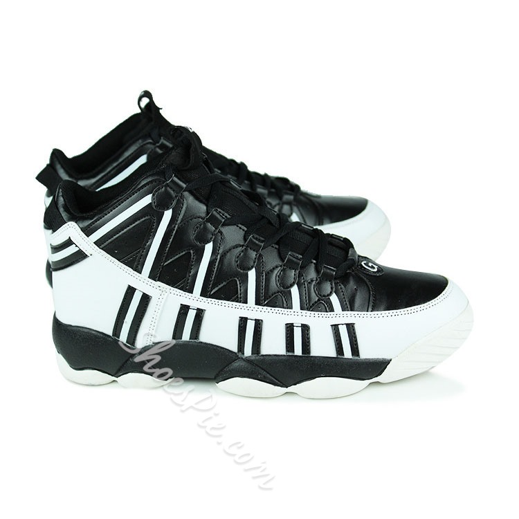 Shoespie Men's Special Patchwork Lace Up Sneakers