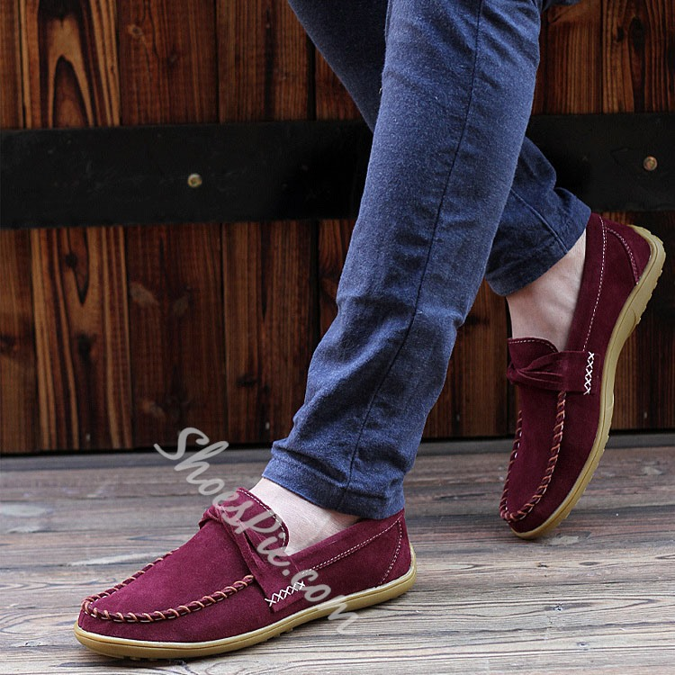 Shoespie Suede Loafers