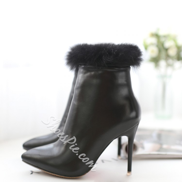 Shoespie Pointed toe Stiletto Heel Ankle Boots