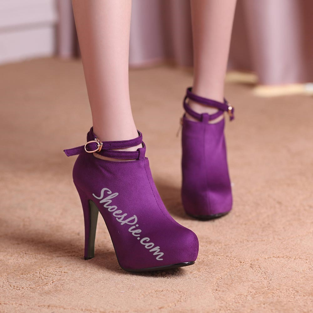 Sheoespie Nubuck Ankle Boots