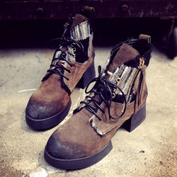 Shoespie Ankle Sneakers