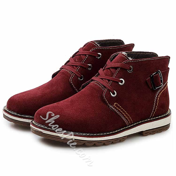 Shoespie Suede Ankle Men's Sneakers