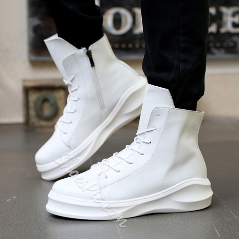 Shoespie Solid Color Sneakers