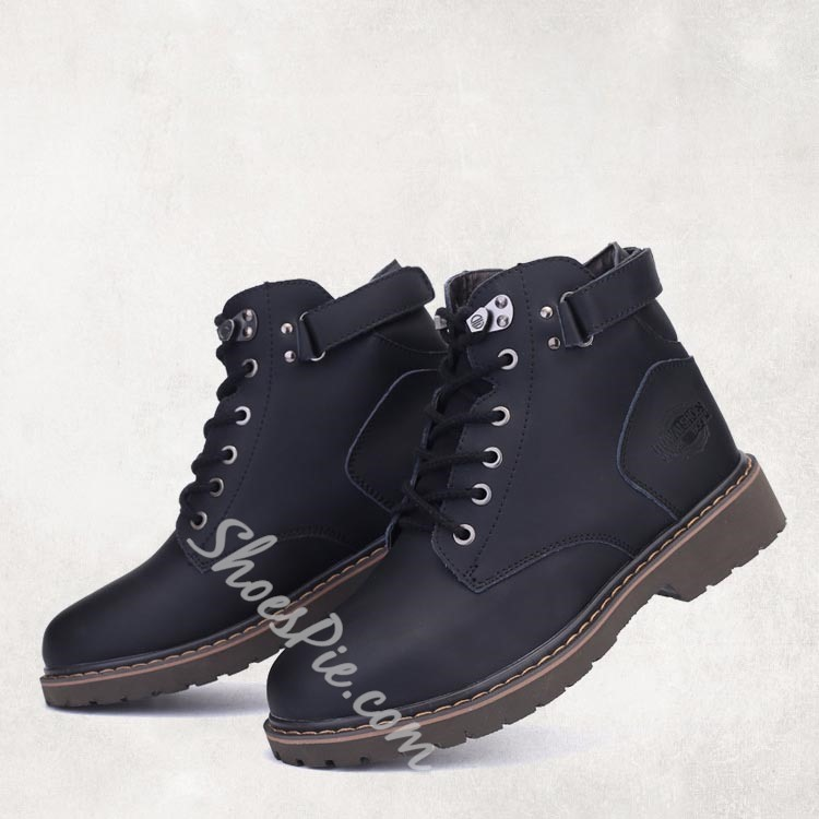 Shoespie Buckles Oxfords