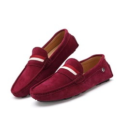 Shoespie Contrast Color Flat Heel Men's Loafers