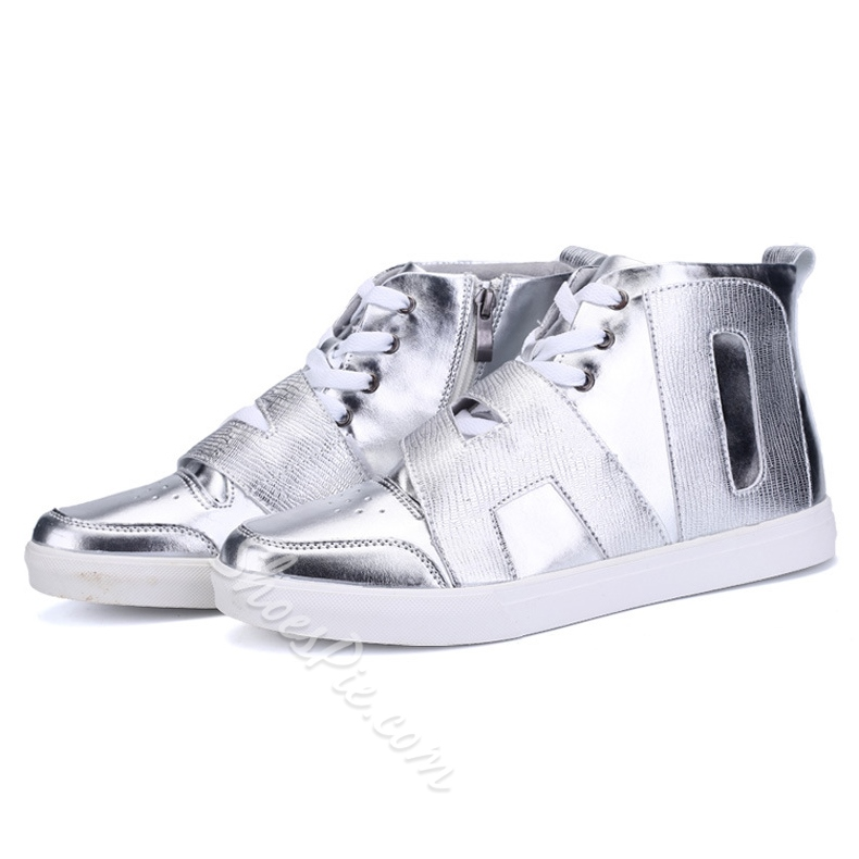 Shoespie High-cut Upper Men's Lace Up Shoes