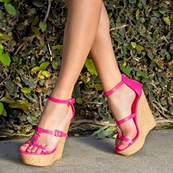 Shoespie Summer Open-Toed Platform Wedge Sandals