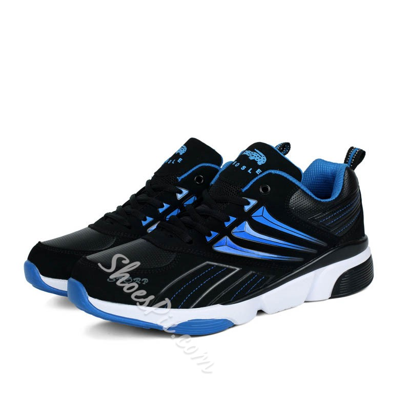 Shoespie Round Toe Men Sneakers