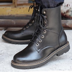 Shoespie Men's Fashion Boots