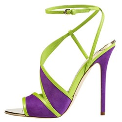 Shoespie Purple Dress Sandals
