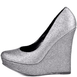 Shoespie Sliver Wedge Heel Pumps