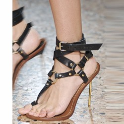Shoespie Stylish Stiletto Heel Thong Sandals