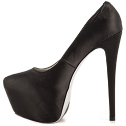 Shoespie OL Style Black Platform Stiletto Heels