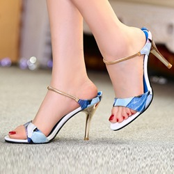 Shoespie Classic Stiletto Heel Dress Sandals
