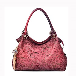 Shoespie Vintage Cut Out Pattern Handbag