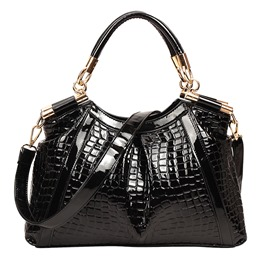 Shoespie Luxurious Snake Pattern Tote Bag
