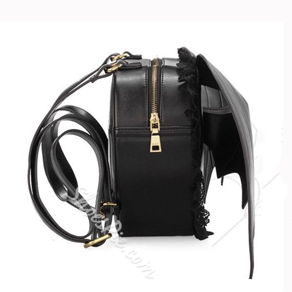 Shoespie Heart Shape Backpack With Wings