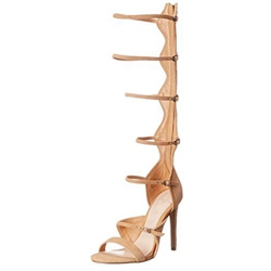 Shoespie Cut Out Stiletto Heel Gladiator Sandals