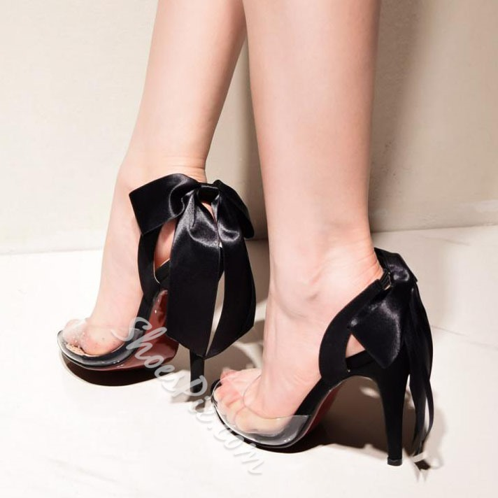 Sexy Jelly High Stiletto Heel Sandals