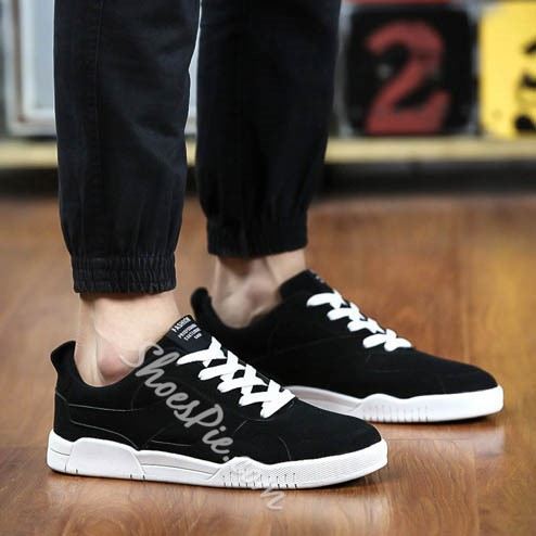 Shoespie Concise and Threading Men's Sneakers