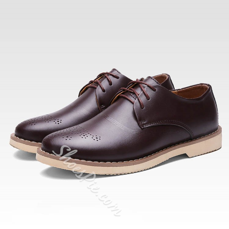Shoespie Classy Derby Men's Shoes