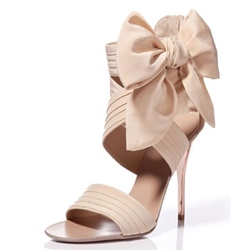 Shoespie Sweet Bowties Dress Sandals