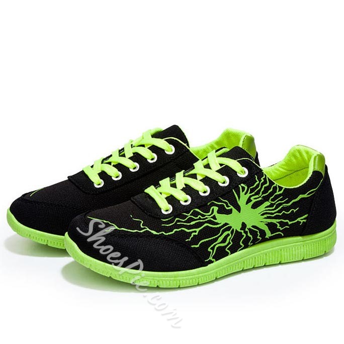 Shoespie Fashionable Flash Print Men's Sneakers