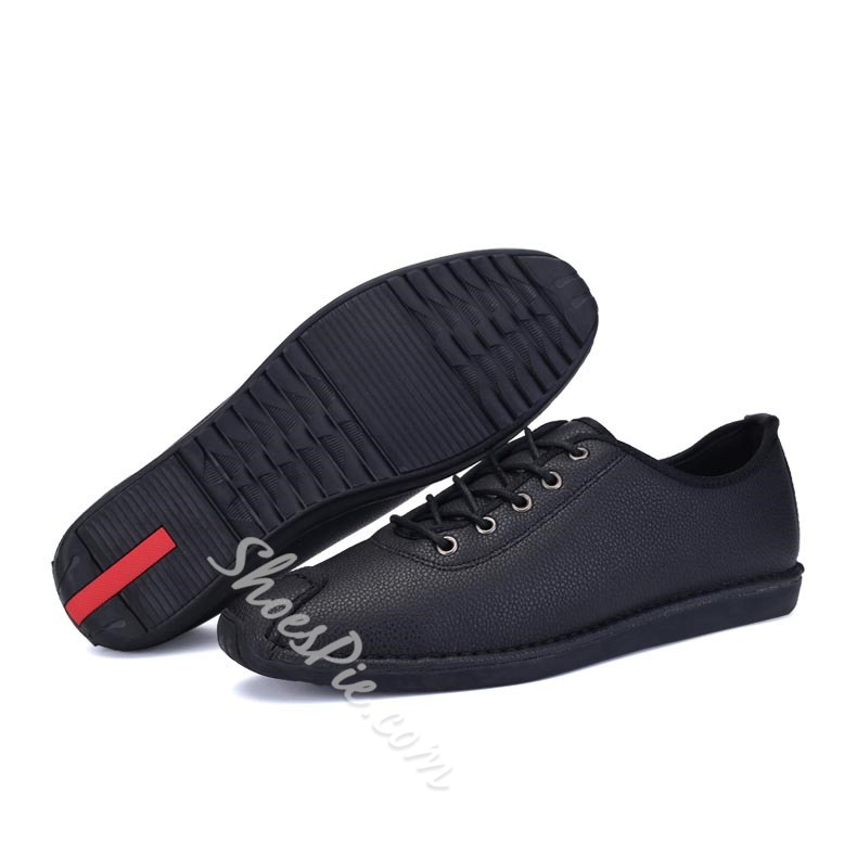 Shoespie Concise Lace Up Men's Loafers
