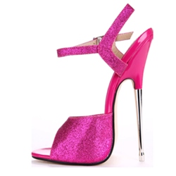 Shoespie Classy Metal Heel Dress Sandals