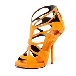 Shoespie Classy Cage Cutout Dress Sandals