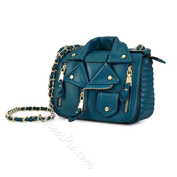 Shoespie Trendy Jacket Shape Shoulder Bag