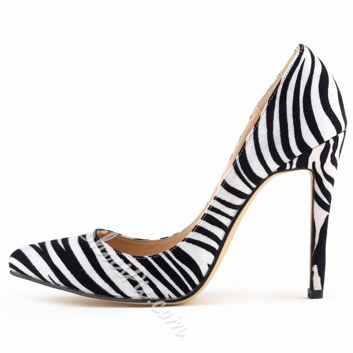 Elegant Candy Color Pointed-toe Heels