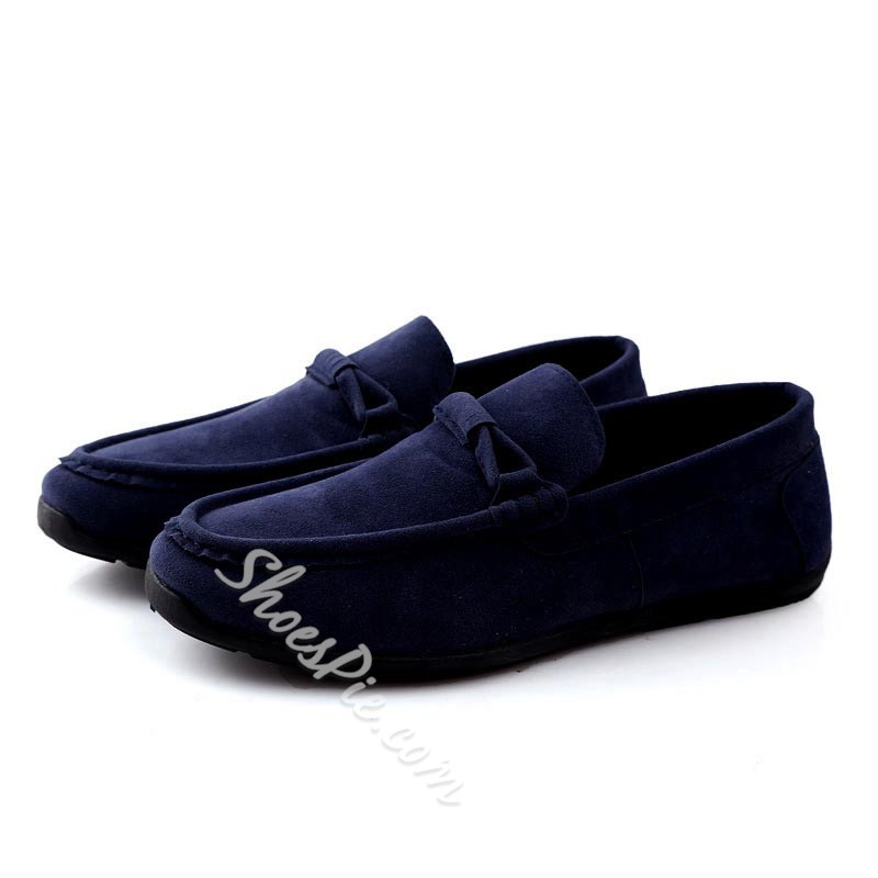 Shoespie Suede Men's Boat Shoes Loafers