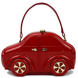 Shoespie Creative Design Car Shape Handbag