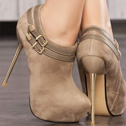 Shoespie Charming Stiletto Heel Ankle Boots