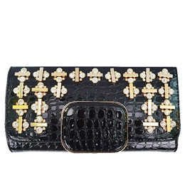Shoespie Cross Rhinestone Clutch